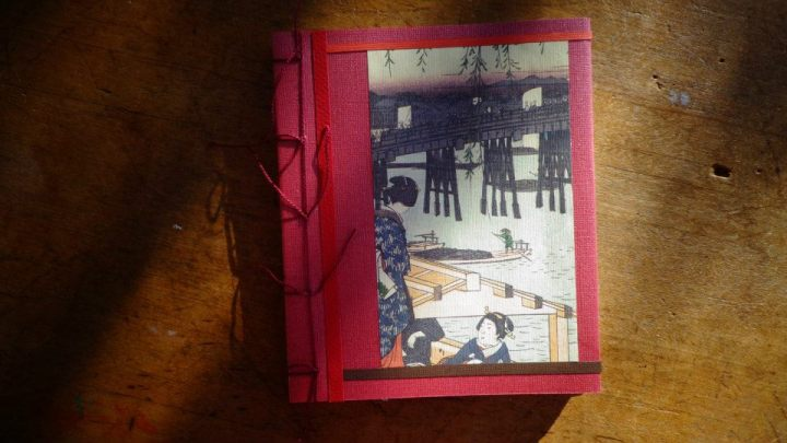 Large Japanese Print Notebook